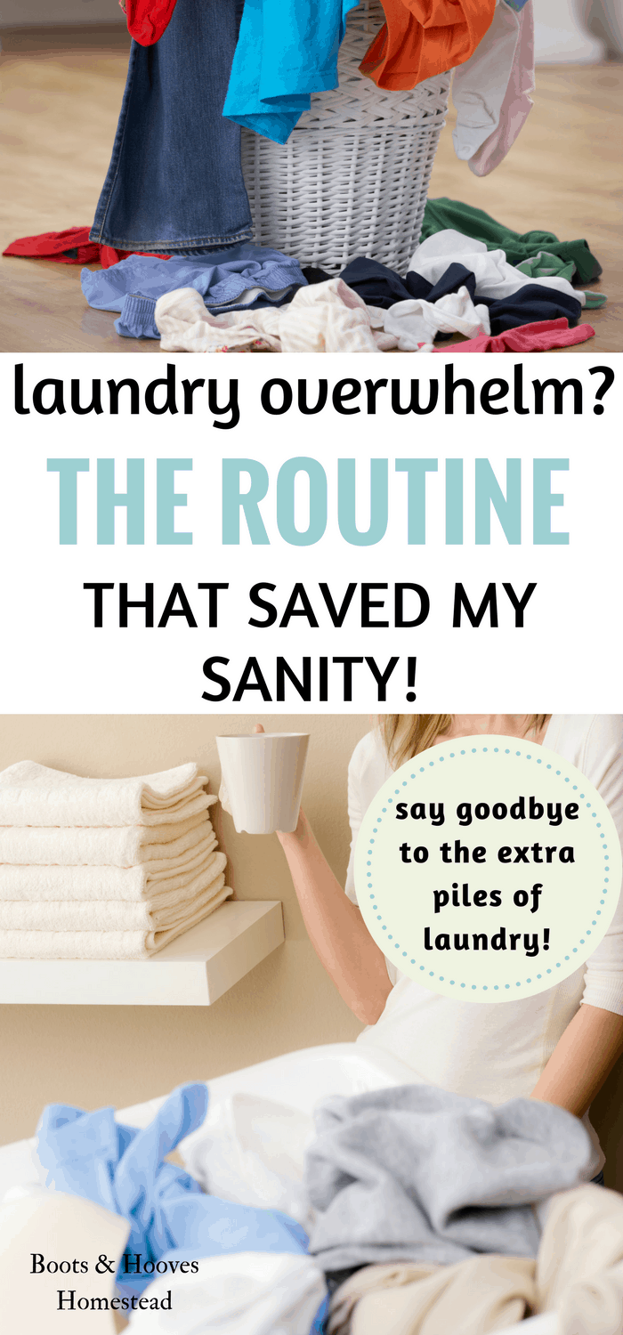 the laundry routine that saved my sanity