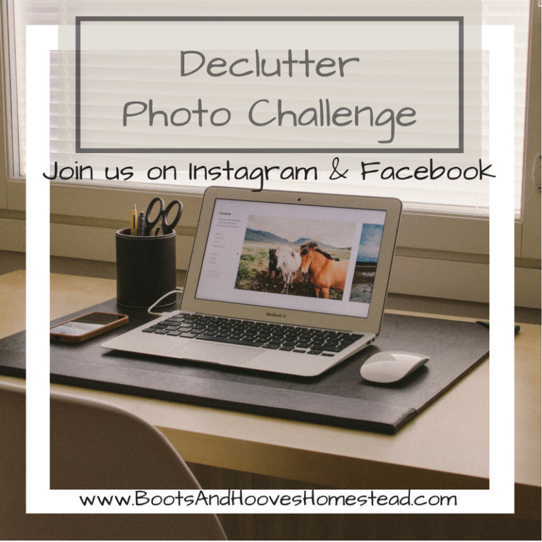 Declutter Photo Challenge