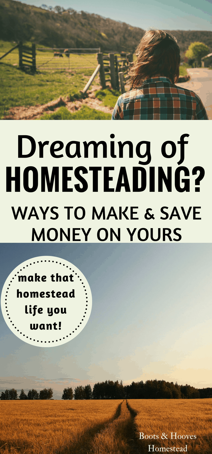 How We Make Money Homesteading - Boots & Hooves Homestead
