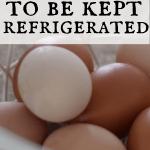 farm fresh eggs in a white wire basket