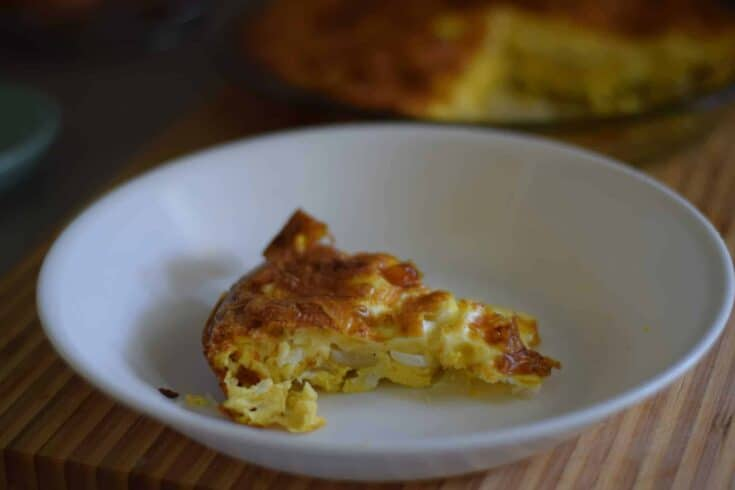 Easy & Meatless Quiche
