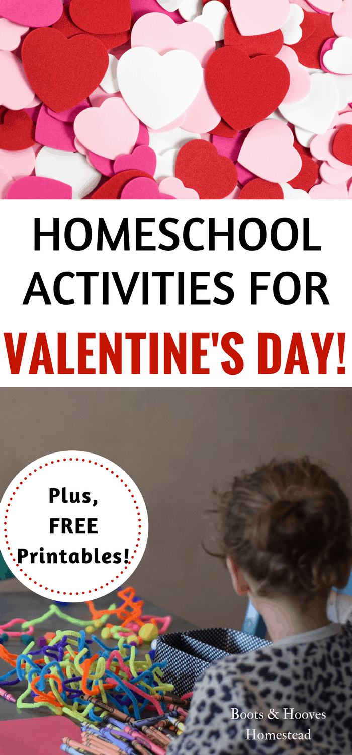 Homeschool Activities for Valentines Day