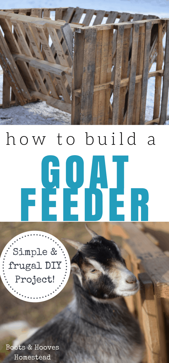 One Of The Completed Goat Feeder And The Bottom Image Of