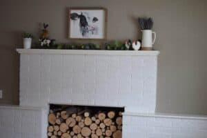 Decorating a Farmhouse Mantel