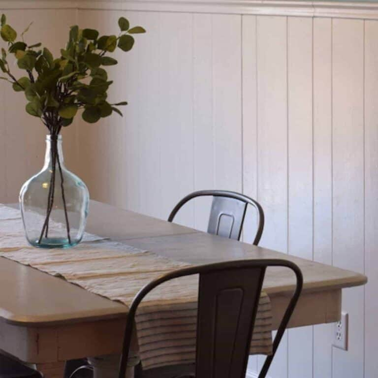 farmhouse dining table remodel