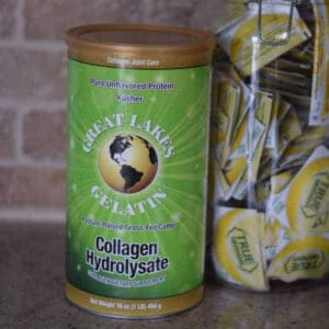 canister of collagen