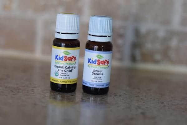 2 bottles of kid safe essential oil blends
