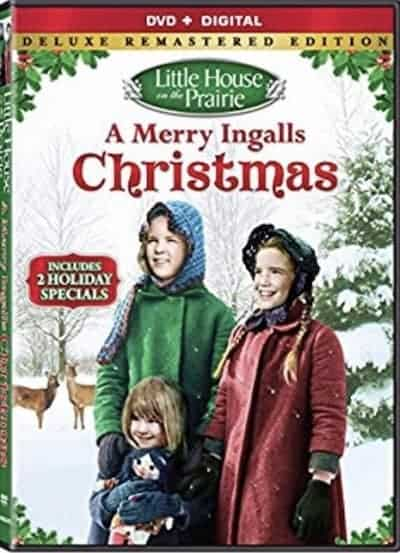 The Little House on the Prairie Christmas DVD cover