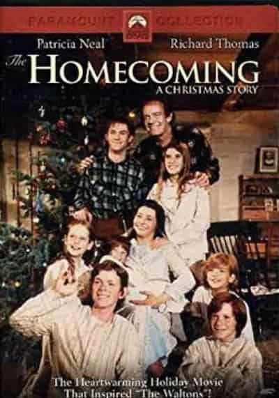 The Homecoming: A Christmas Story DVD cover