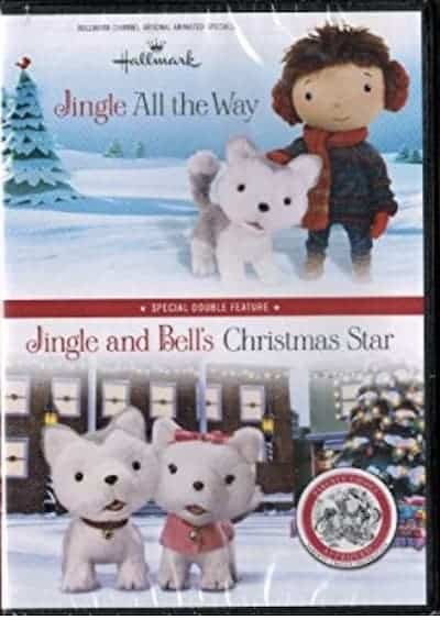 Hallmark's Jingle All the Way and Jingle & Bells Christmas Star DVD cover