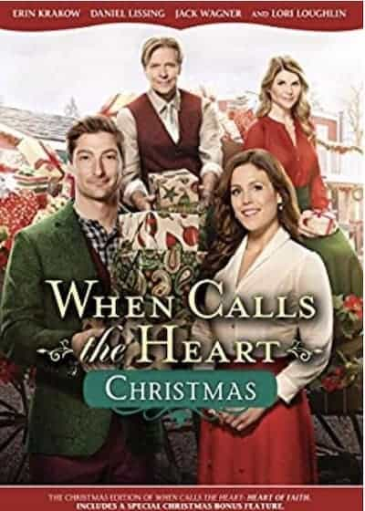 When Calls the Heart Christmas DVD cover