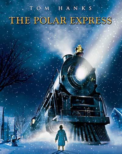 dvd cover for polar express