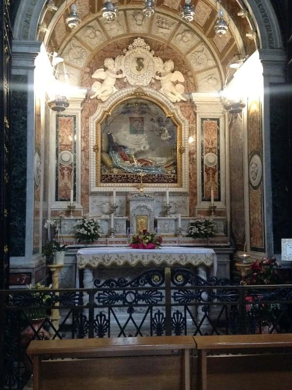 Shrine of St Philomena in Italy