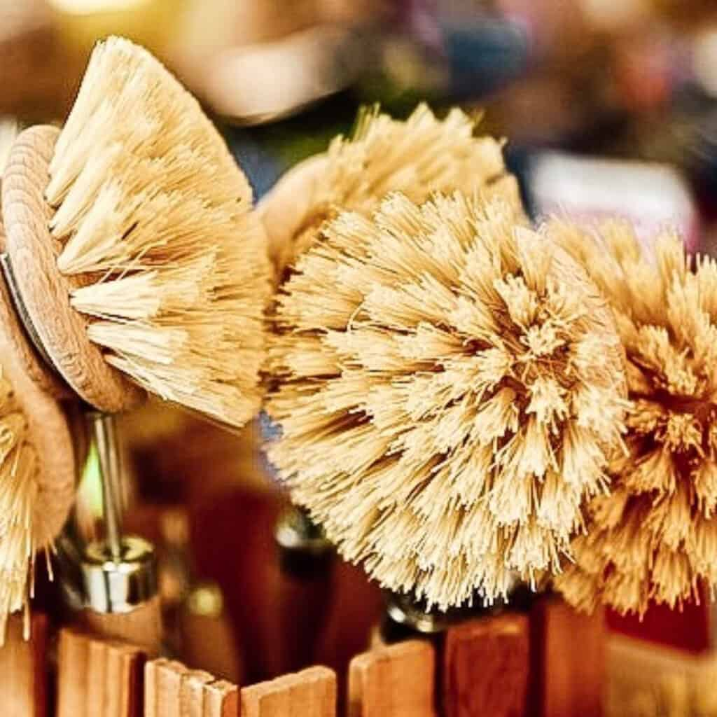 natural cleaning brushes