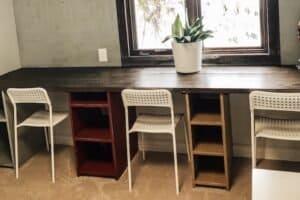 farmhouse classroom desks