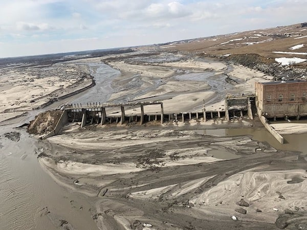 The Spencer Dam in Nebraska