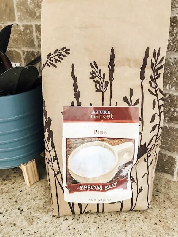 5 lb bag of Epsom Salt from Azure Standard