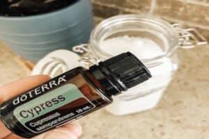 Epsom Salt in a mason jar