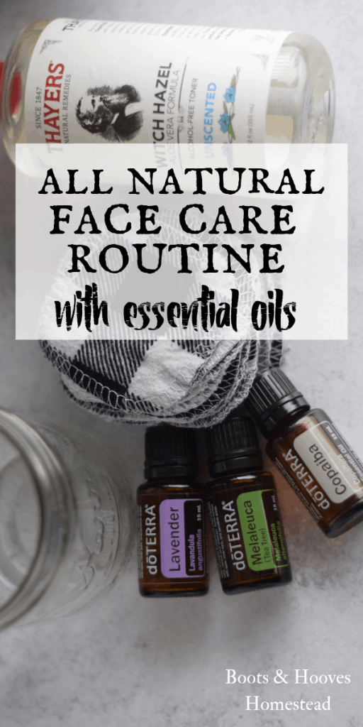 essential oils and witch hazel