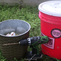 DIY Compost Bin with a 5 Gallon Bucket   Faithful Farmwife