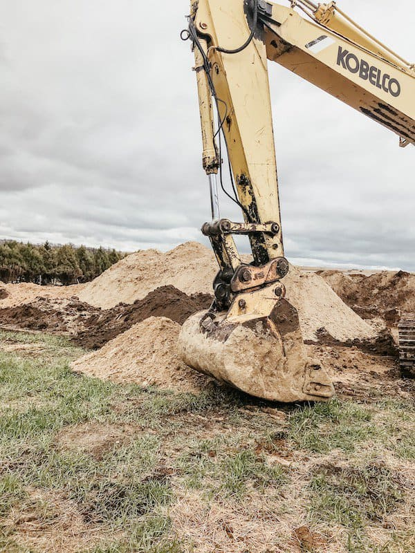 digging for a new home