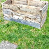 Wood Pallet DIY Raised Planter Box - Reuse Grow Enjoy