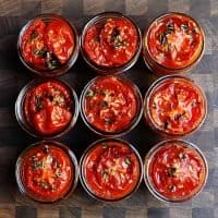 Slow Roasted Tomatoes with Olive Oil and Thyme