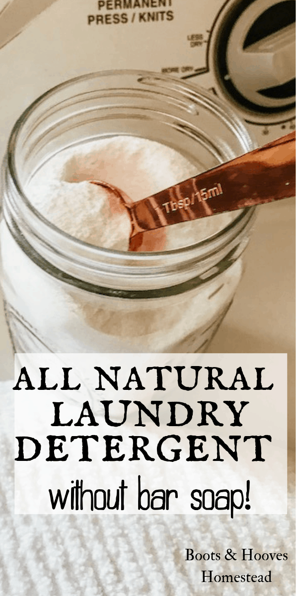 Diy Natural Laundry Detergent Without Bar Soap Boots