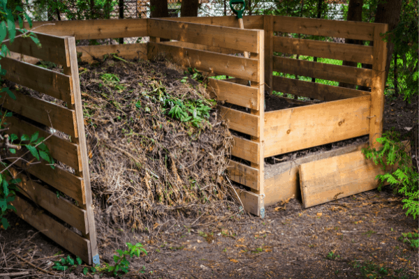 compost bin outdoors