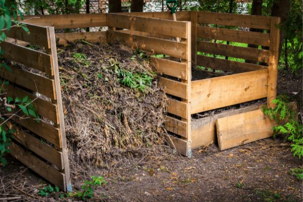 compost bin outdoors
