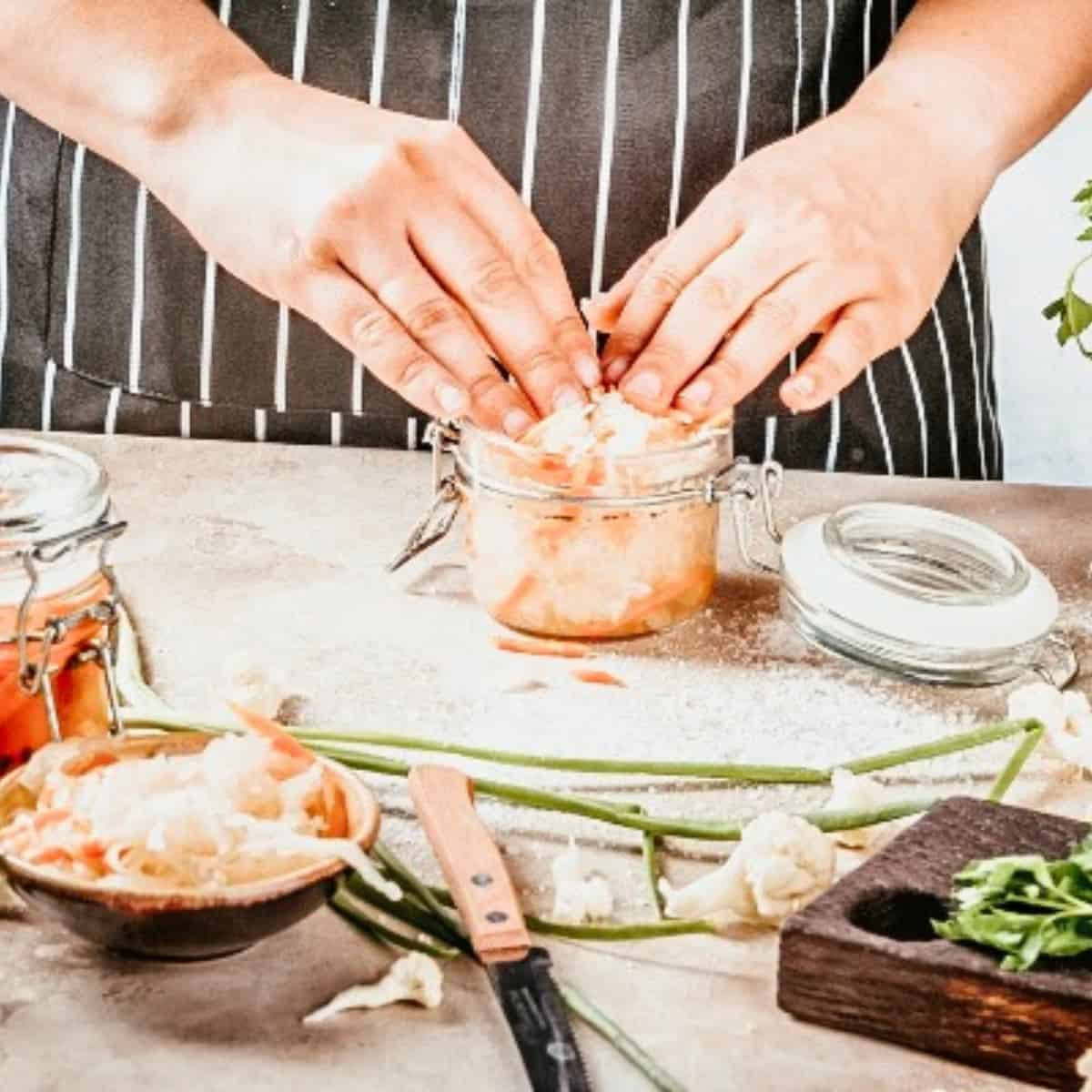 food preservation with fermenting fresh produce