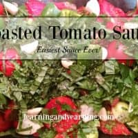 Roasted Tomato Sauce - Easiest Sauce Ever!