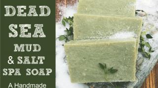Dead Sea Mud & Salt Hot Process Soap Recipe