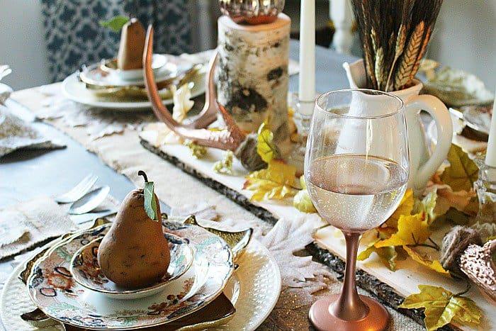 Create A Neutral Rustic Fall Tablescape