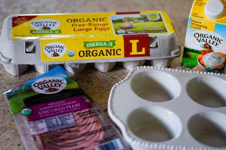 organic valley eggs and heavy cream
