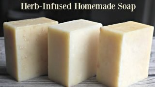 How to Make Herb Infused Homemade Soap