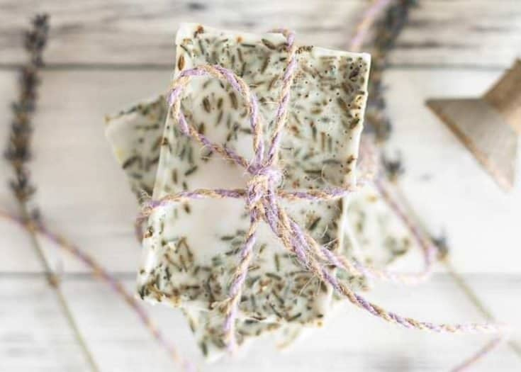 Soothing Lavender Soap Recipe with Frankincense