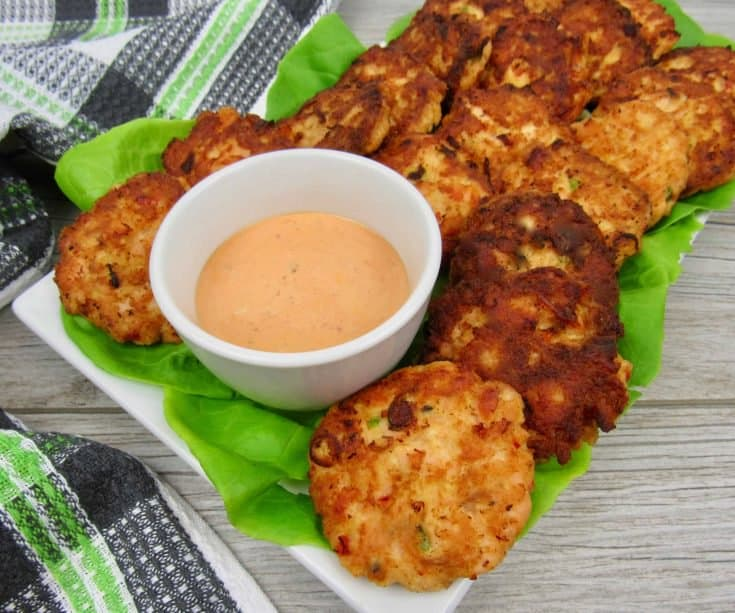 Bang Bang Salmon Cakes - Keto, Low Carb & Gluten Free