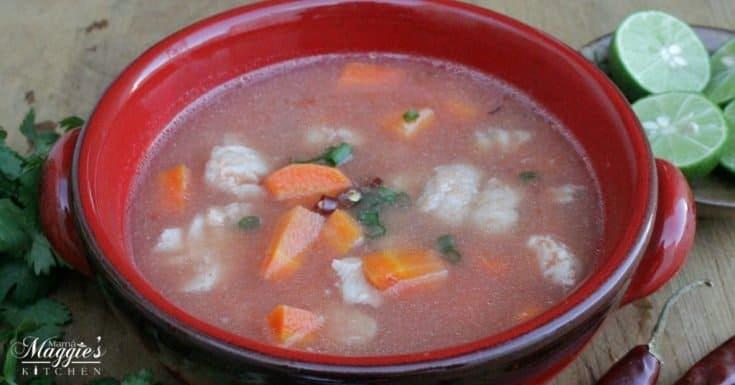 Mexican Fish Soup, or Caldo de Pescado