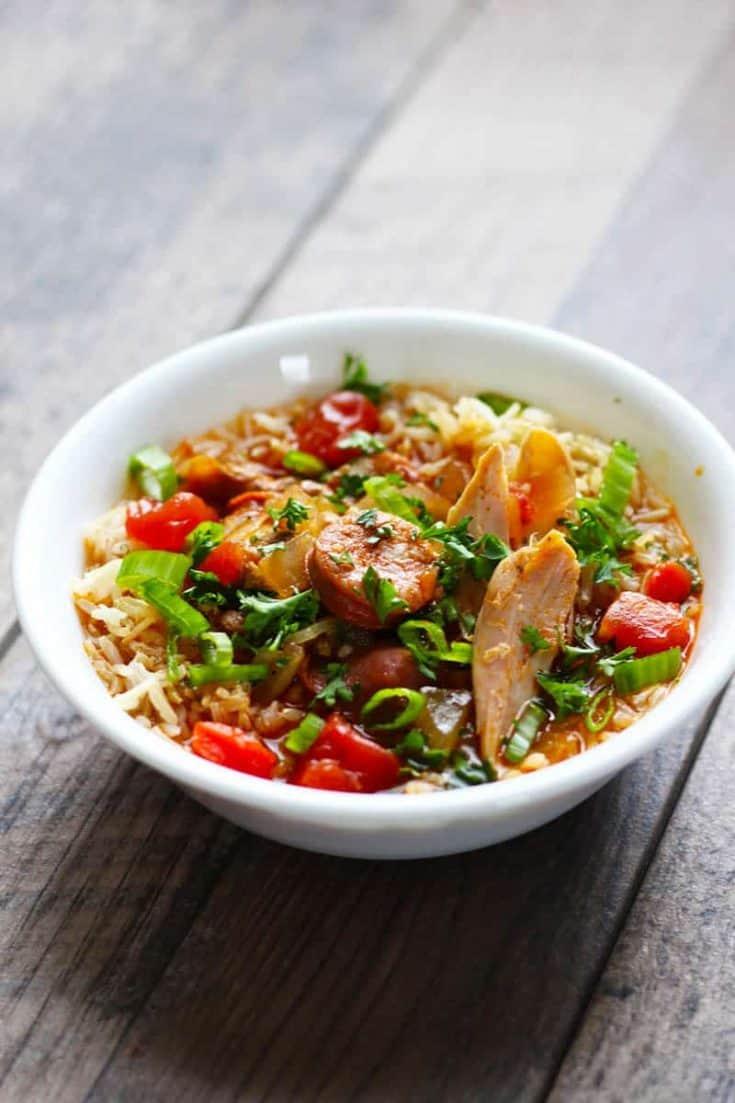 Easy Slow Cooker Jambalaya Recipe