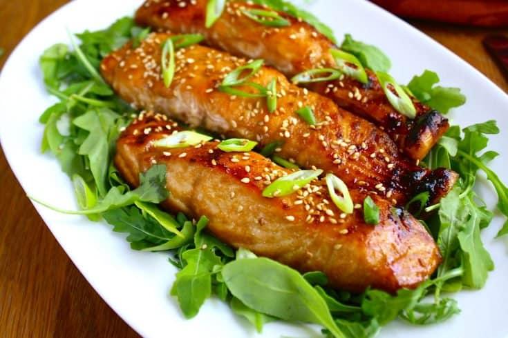 Honey Baked Alaska King Salmon Strips