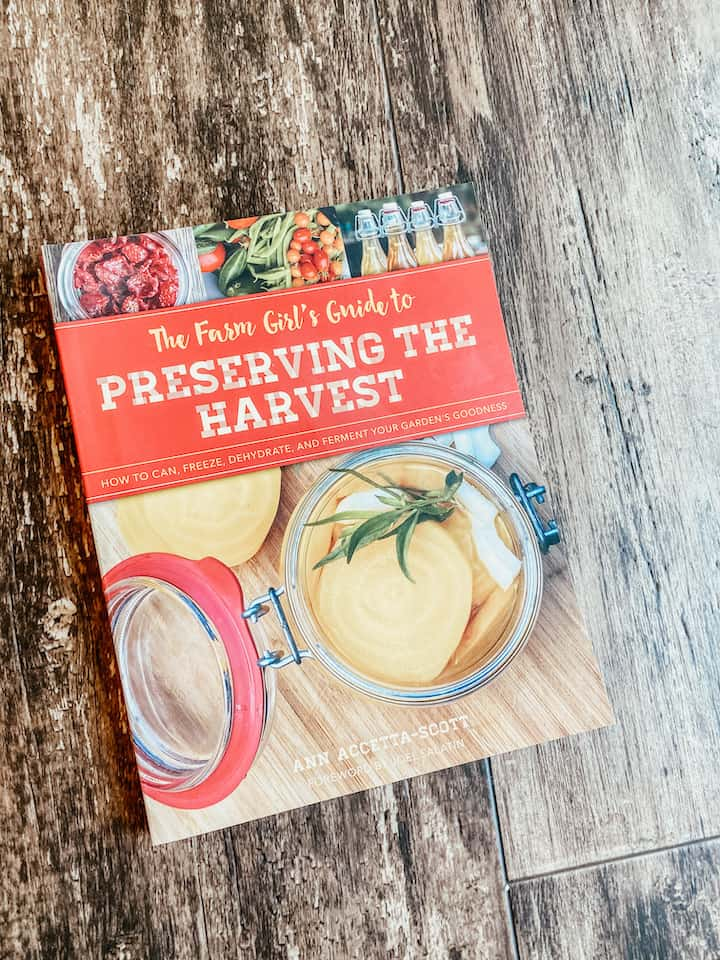 cover of the book preserving the harvest - a beginners guide to canning and preserving