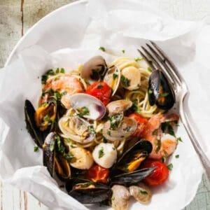 mixed seafood bowl