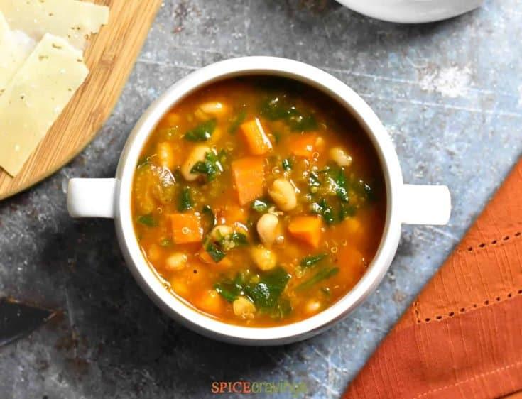 Instant Pot Minestrone Soup (Gluten-Free)