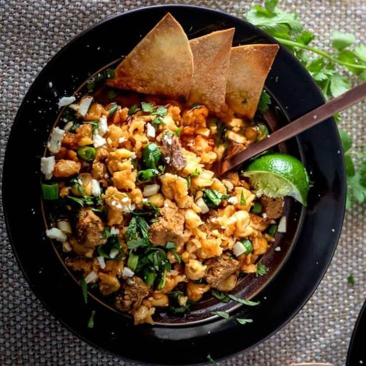 Instant Pot Red Chile Posole