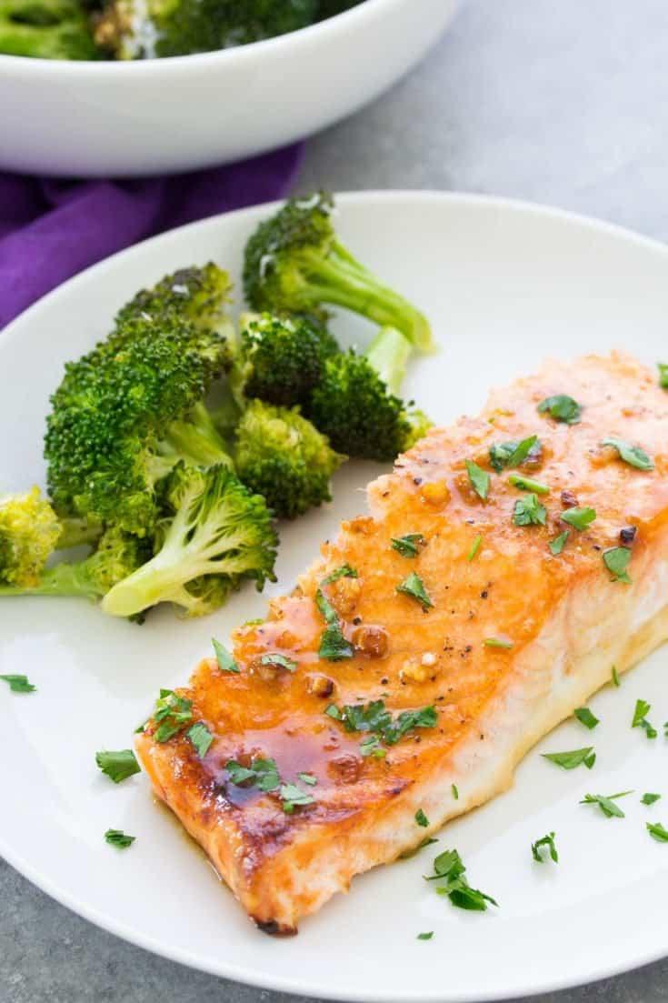 Easy Oven Baked Salmon Recipe - Healthy Dinner Recipe