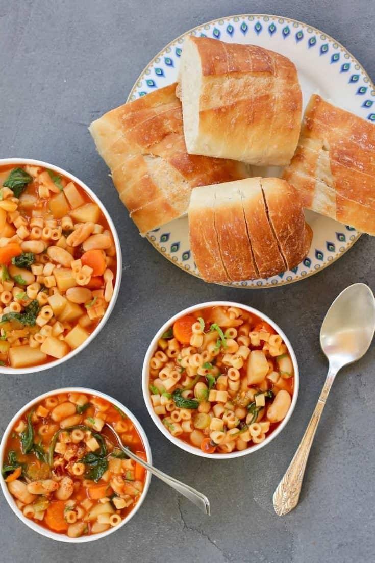 Pasta e Fagioli - Instant Pot