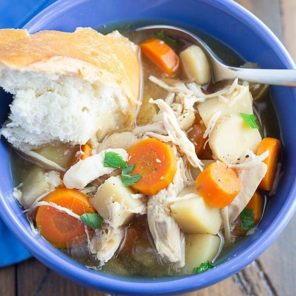 Slow Cooker Maple Chicken Stew