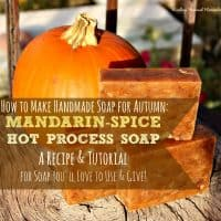 How to Make Fall Spice Natural Handmade Soap