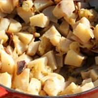 Braised Turnips and Apples Recipe